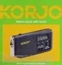 Korjo Alarm clock with torch ACT22