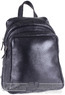 Futura leather backpak 4279L BLACK