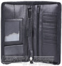 Artex great escape leather organiser A4081310 BLACK