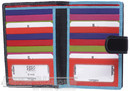 Cellini Paris leather wallet CW1212 MULTI COLOUR / BLACK