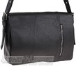Pierre Cardin leather messenger PC8867 BLACK
