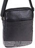 Pierre Cardin leather shoulder bag PC10968 BLACK