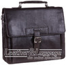 Hidesign leather briefcase SPECTOR BROWN