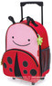 Skip Hop Zoo friends rolling luggage 212310 LADYBUG