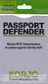 Korjo RFID credit passport defender